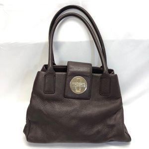 KATE SPADE stevie bexley turnlock leather bag